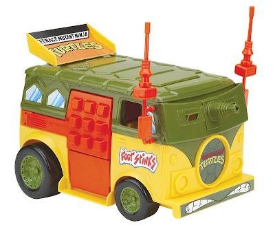 Playmates Teenage Mutant Ninja Turltles TMNT Classic Collection Turtle Party Wagon