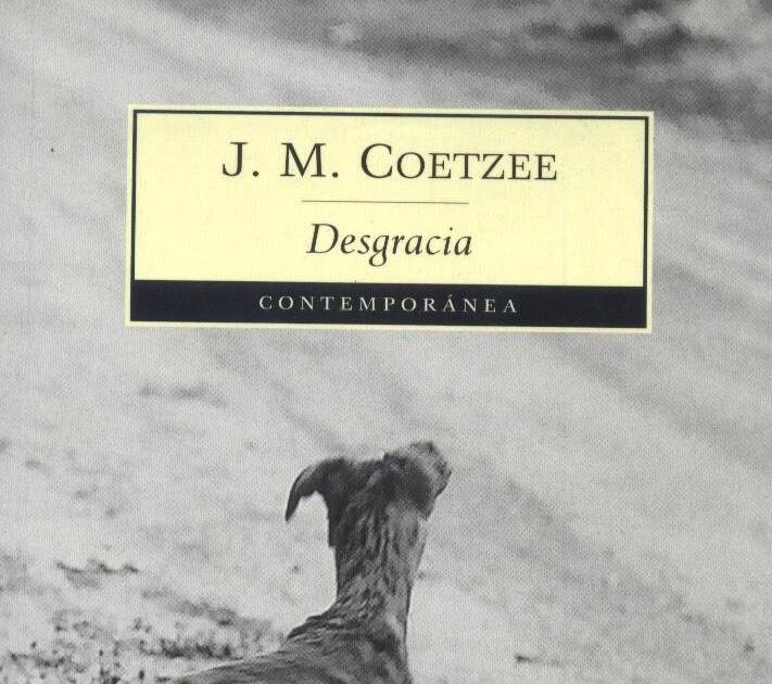 Resultado de imagen para Desgracia, J. M. Coetzee pdf