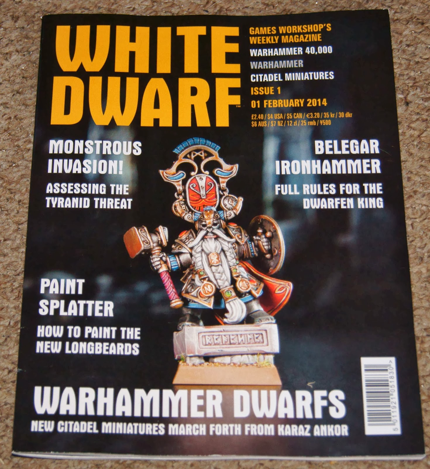 Painting White Dwarf Magazine Articles (page 3) - Pics ...