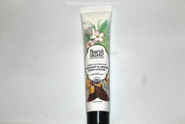 Nourish Organic body lotion