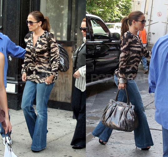 Estilo Cinderela Jennifer Lopez Street Style