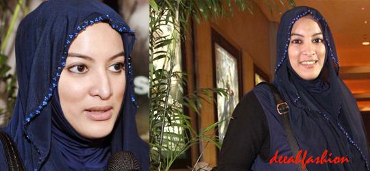 Jilbab ala Jane Shalimar NavyChic