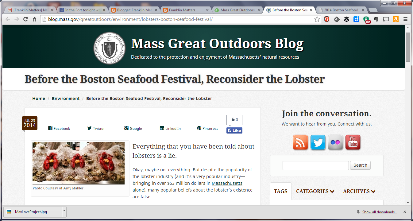 Mass Great Outdoors blog