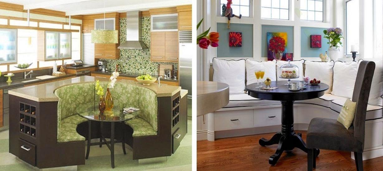 Rincones acogedores para comer en la cocina cocinas con - Disenar tu cocina ...