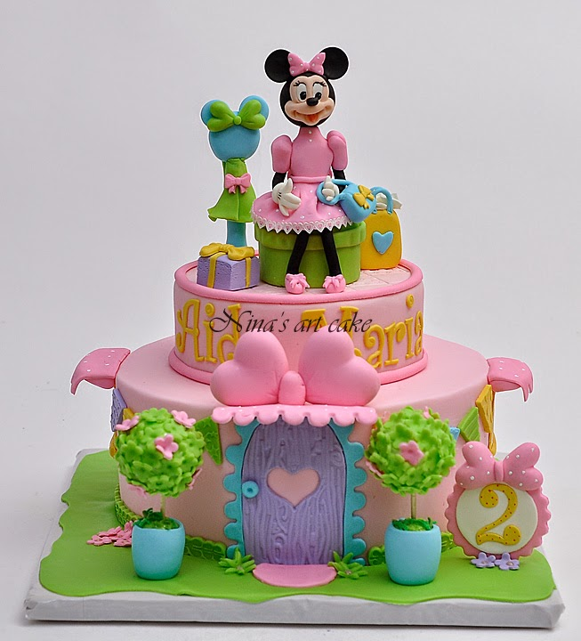 "Tort ""Minnie's boutique"""