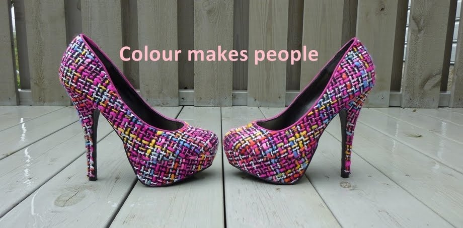 Colour makes people!