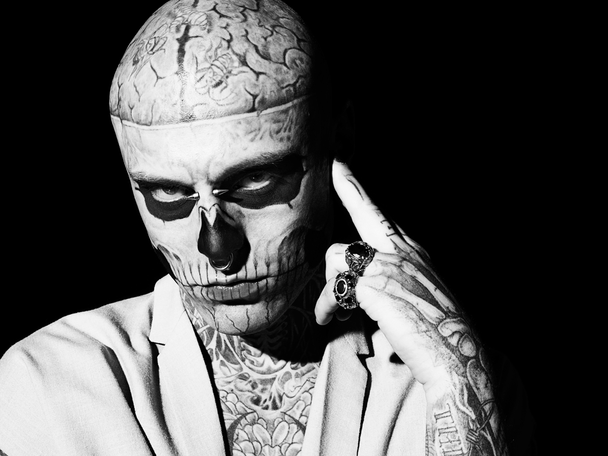 Aline&Jacqueline Tappia Photography: Rick Genest by Aline ...