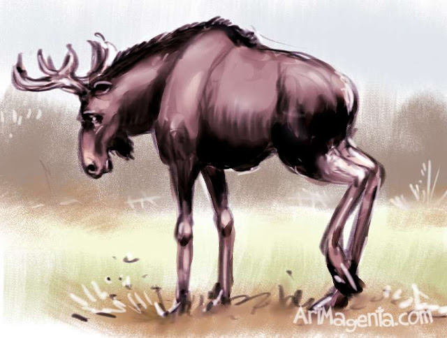 Moose by ArtMagenta