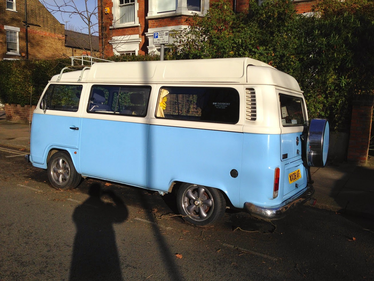 Old VW Campervan, Queen's Park, London