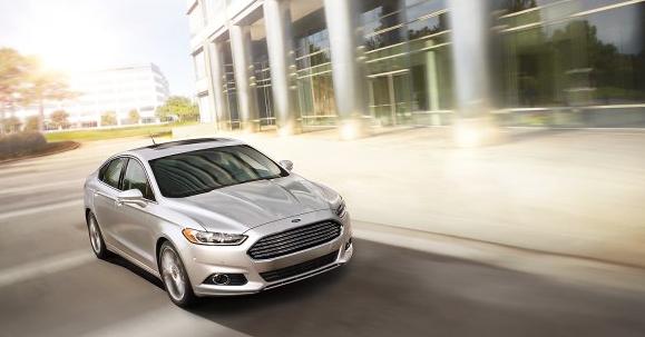 2014 Ford Fusion Titanium Ingot Silver