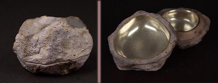 incense jar - inayoshi osamu, japanese potter