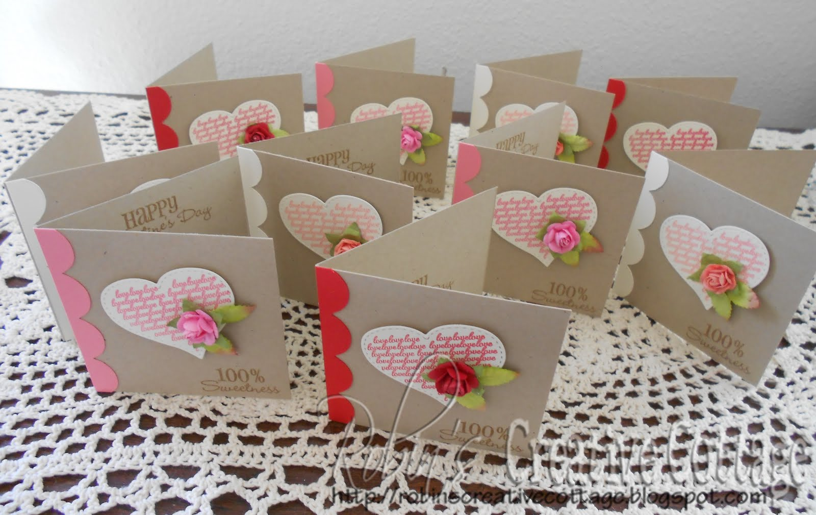 Handmade Valentines Day Cards  Better Homes amp Gardens