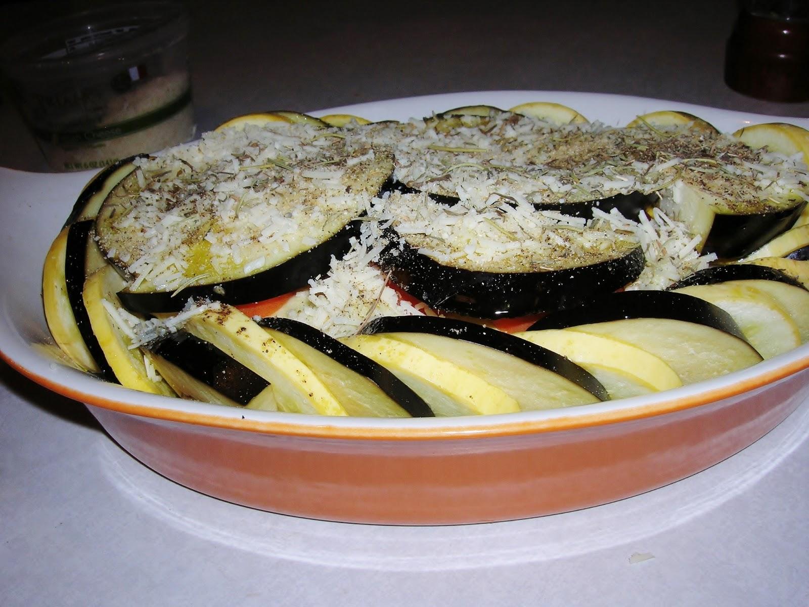 Provencal Vegetable Tian, GF, SF, DF & Vegan opt - Skinny GF Chef ...