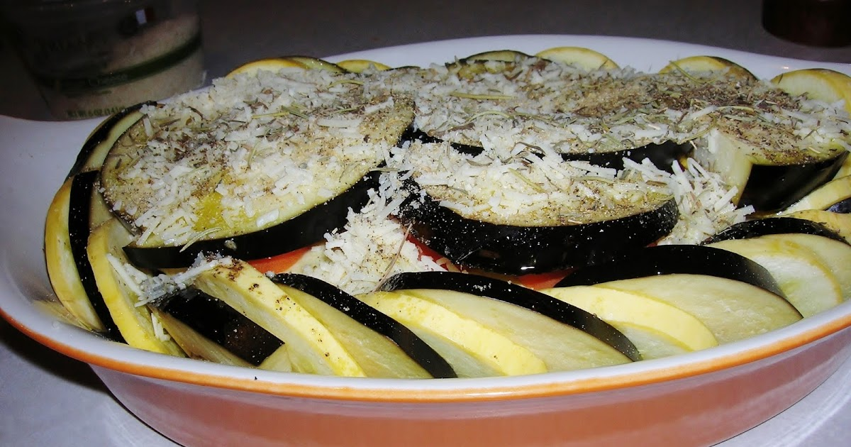 Provencal Vegetable Tian, GF, SF, DF & Vegan opt - Skinny GF Chef ...