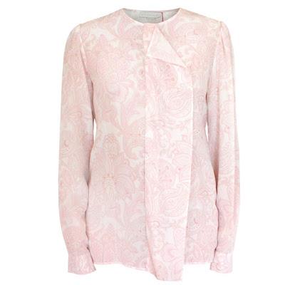 stella mccartney silk paisley blouse