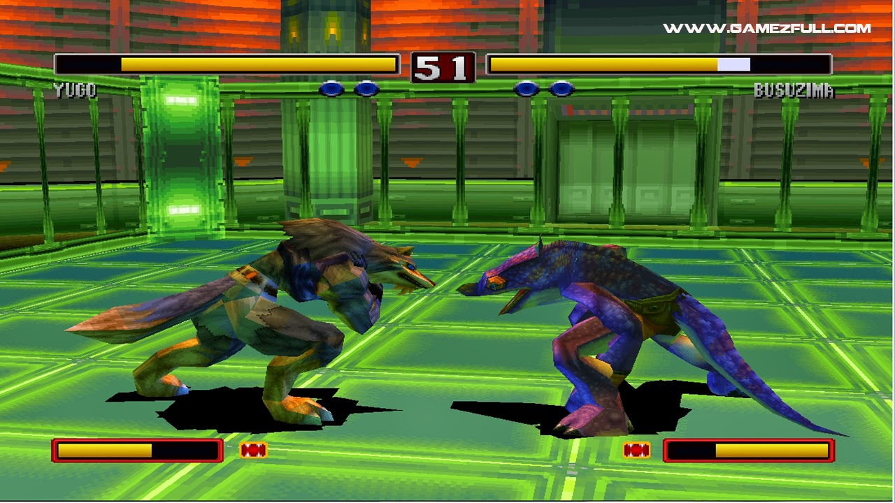 Bloody Roar 2 pc full mega, 4shared