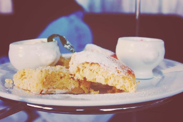 scones, high tea, jam, scream, food