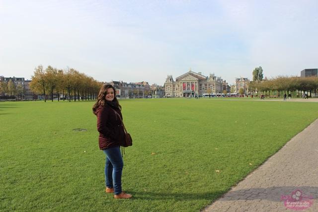 Praça dos Museus em Amsterdam