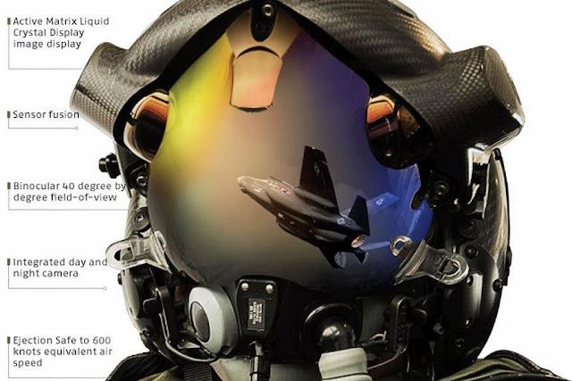 خوذة طائرة إف 35 (F-35 Helmet)