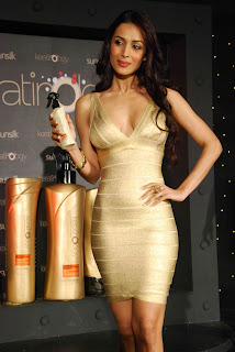 Malaika Arora Khan Pictures at Sunsilk Keratinlogy Sunsilk Shampoo�s Gold Chamber Of Secret Launch