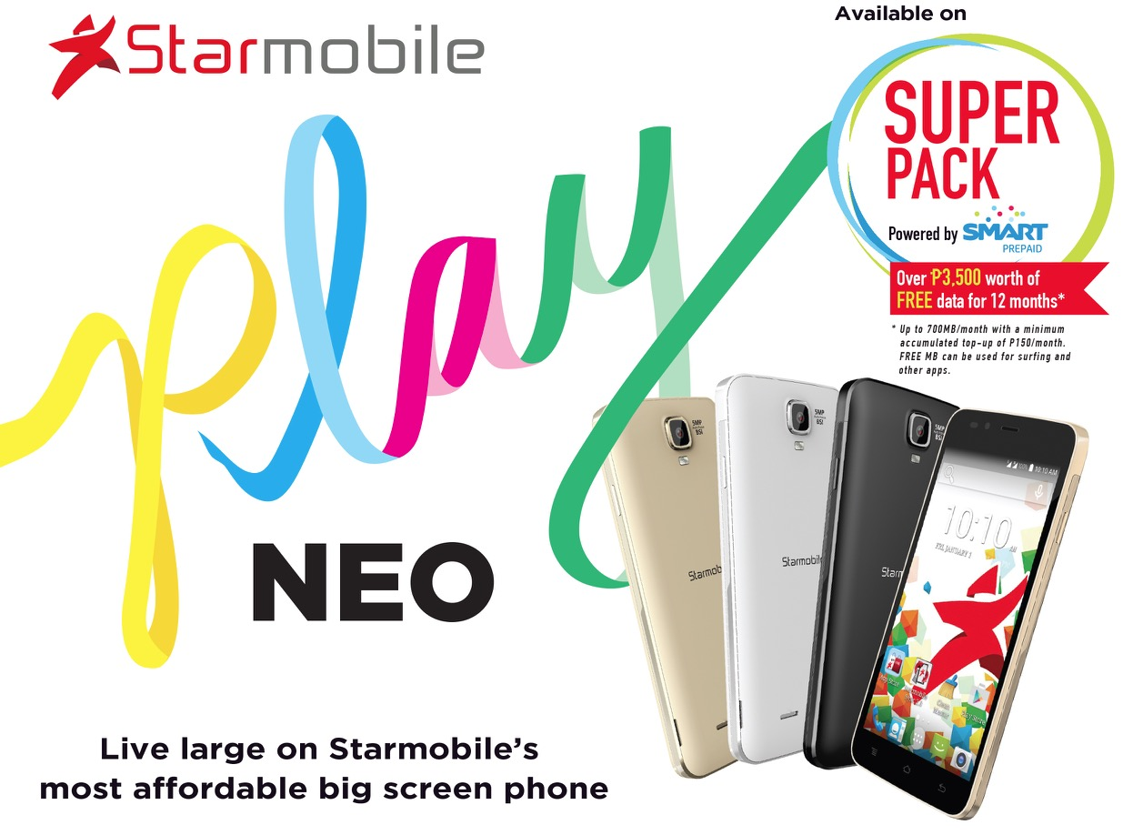 Starmobile PLAY Neo