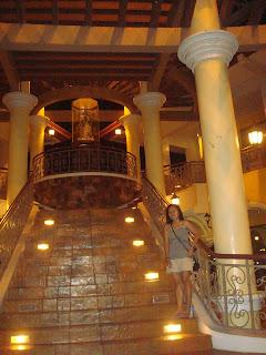 grand staircase in Plazuela de Iloilo