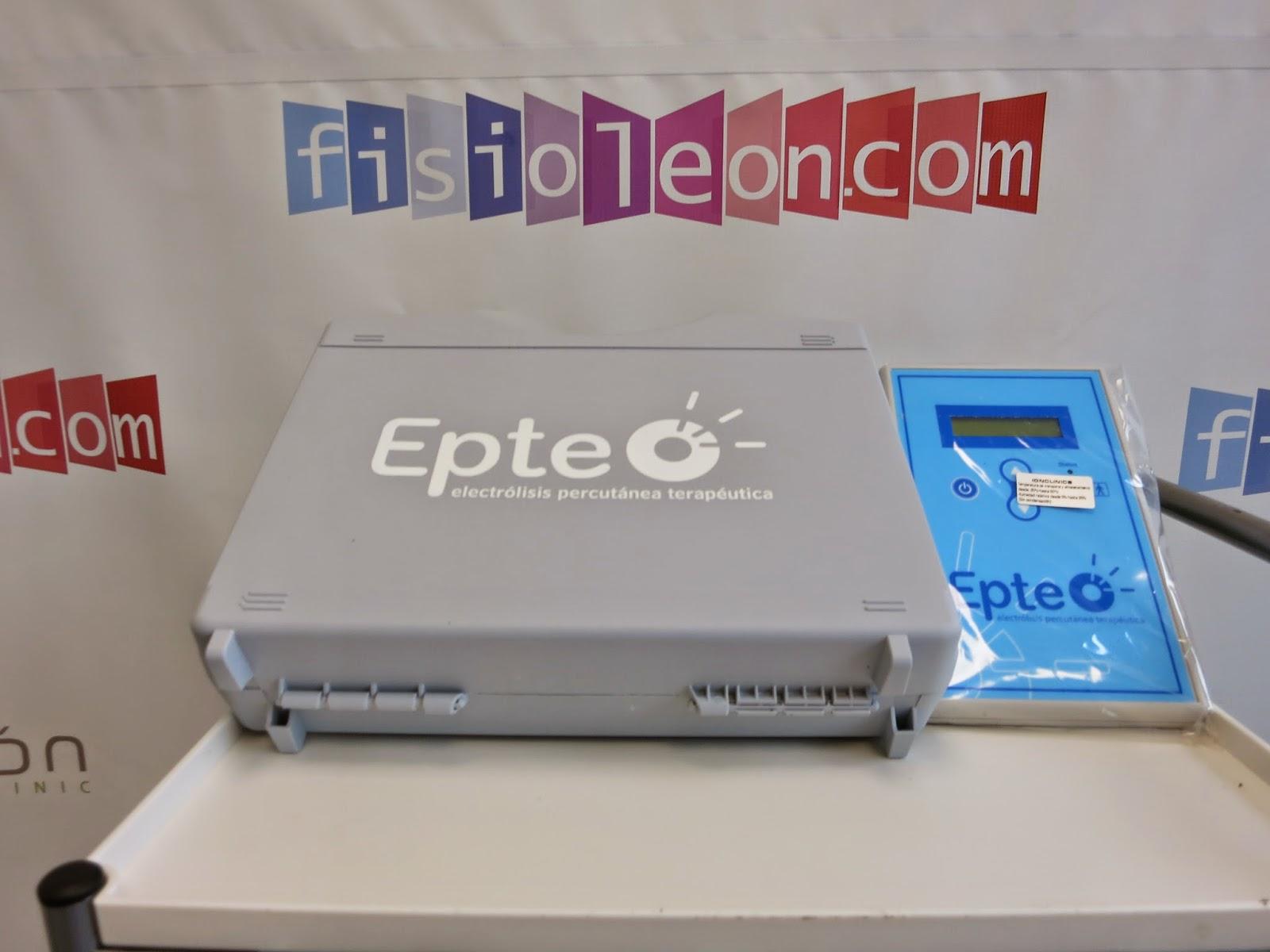 Epte electrolisis percutanea terapeutica