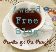 This is an award free blog