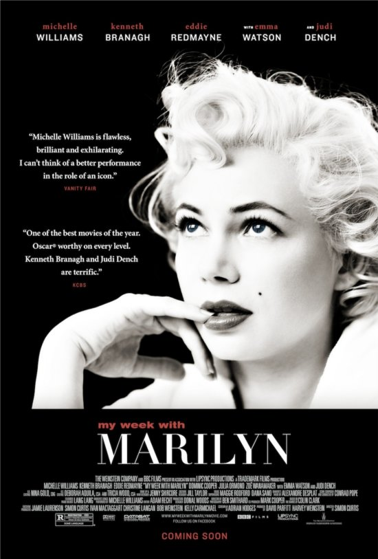 my week with marilyn poster locandina