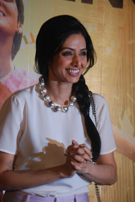 Sridevi smiling