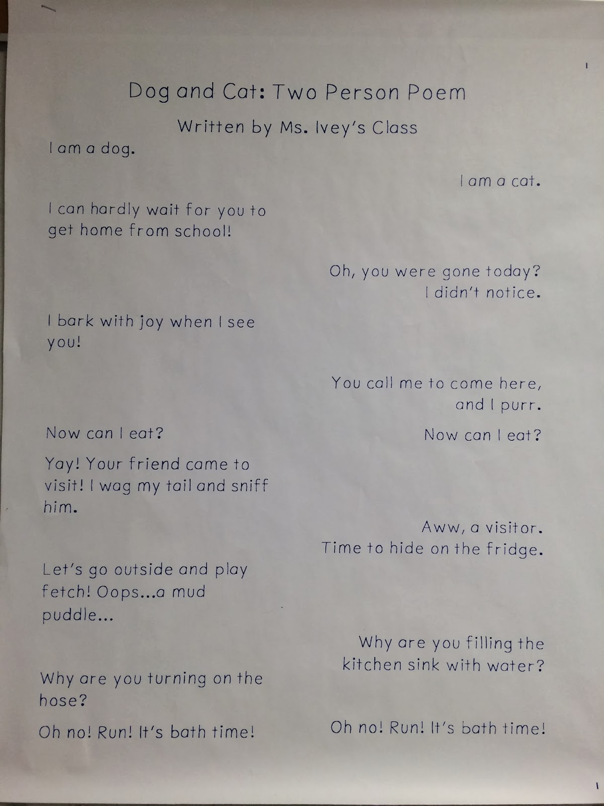 math worksheet : sparking student motivation two voice poems  ideas by jivey for  : Funny Poems For Middle School