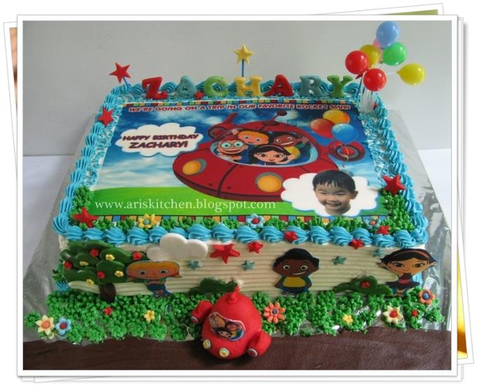 Dangel Cakes Little Einsteins Cake
