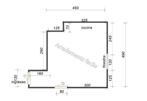 come arredare un soggiorno piccolo con angolo cottura ~ dragtime for . - Arredamento Piccolo Soggiorno Con Angolo Cottura 2