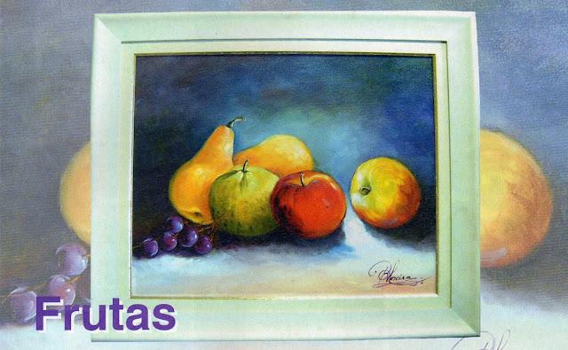 Pintura em Tela - Frutas