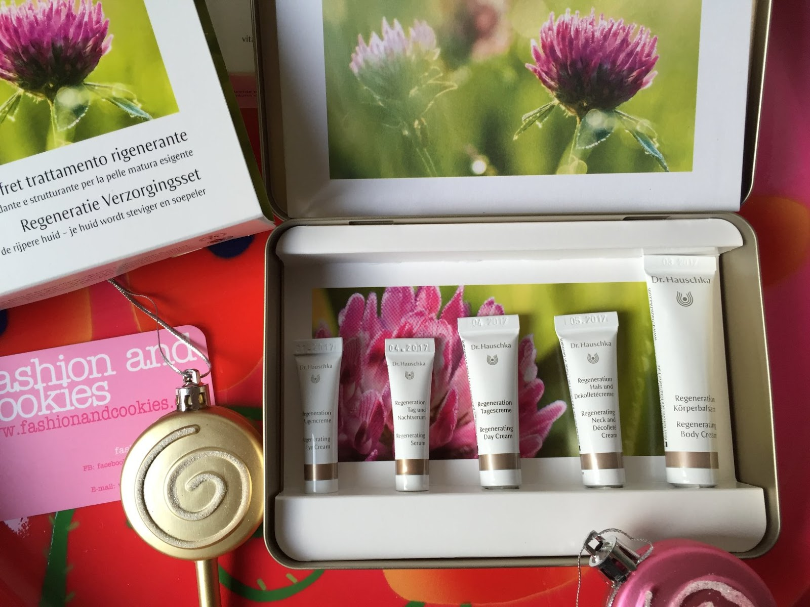 Dr. Hauschka Regenerating Skin Care Kit, Coffret Trattamento Rigenerante on Fashion and Cookies beauty blog, beauty blogger from Italy