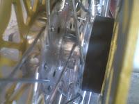 Cara Membuat Doudle Disk/Cakram Double Tromol Depan Motor