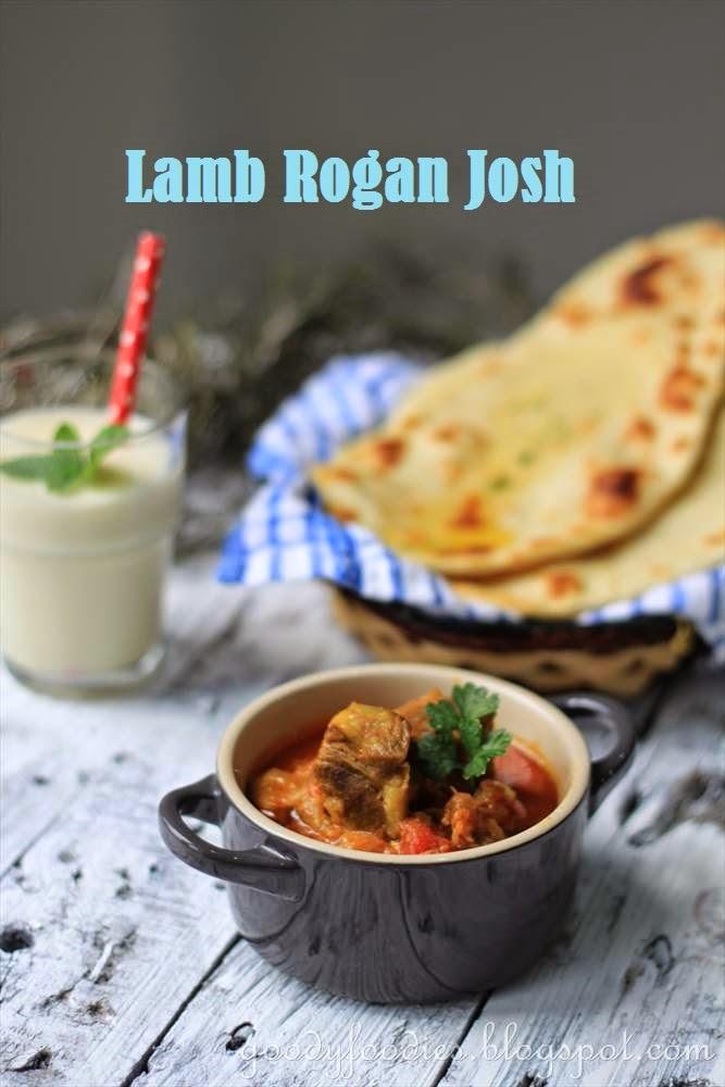 GoodyFoodies: Recipe: Lamb Rogan Josh