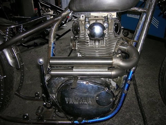 Yamaha XS650 Custom Exhaust | Yamaha XS650 Custom Muffler | Yamaha XS650 Custom Silencer | Yamaha XS650 Custom | Custom Yamaha XS650
