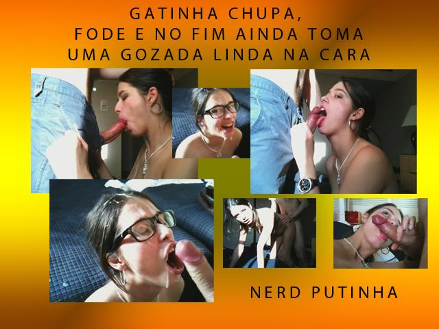 Nerd putinha de óculos download