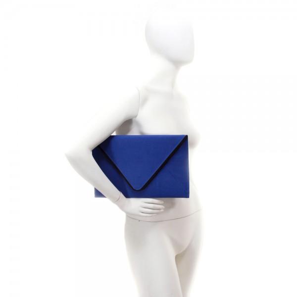Bolsa De Mão Azul Royal : Dito feito fica a dica loja amo muito