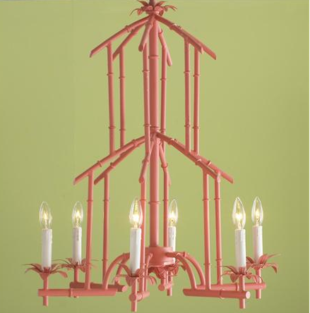 Chinoiserie Chic: The Faux Bamboo Chandelier