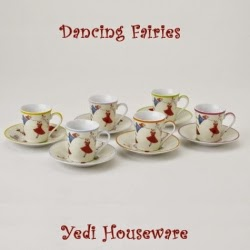 Blondes that DIY: Yedi Houseware Cups and Saucers