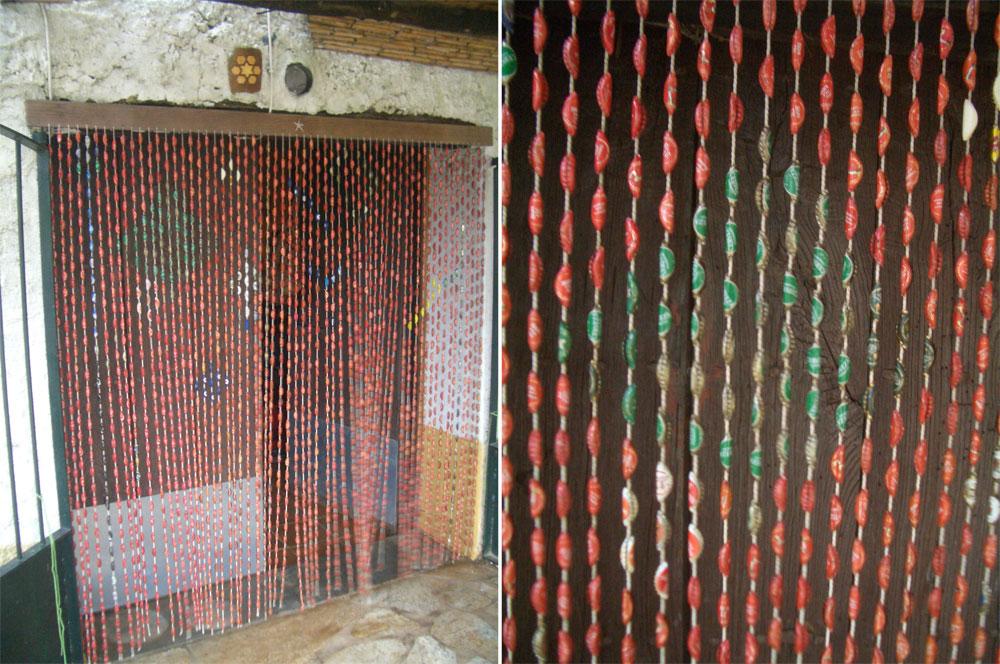 Cortinas De Baño Navidenas:Neo arquitecturaymas: Reciclar chapas de botellas para decorar