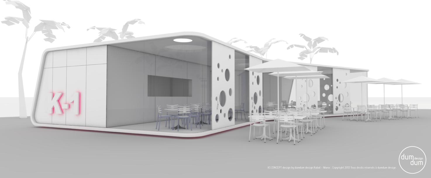 dumdum design 2011 15 k1 concept kiosque. Black Bedroom Furniture Sets. Home Design Ideas
