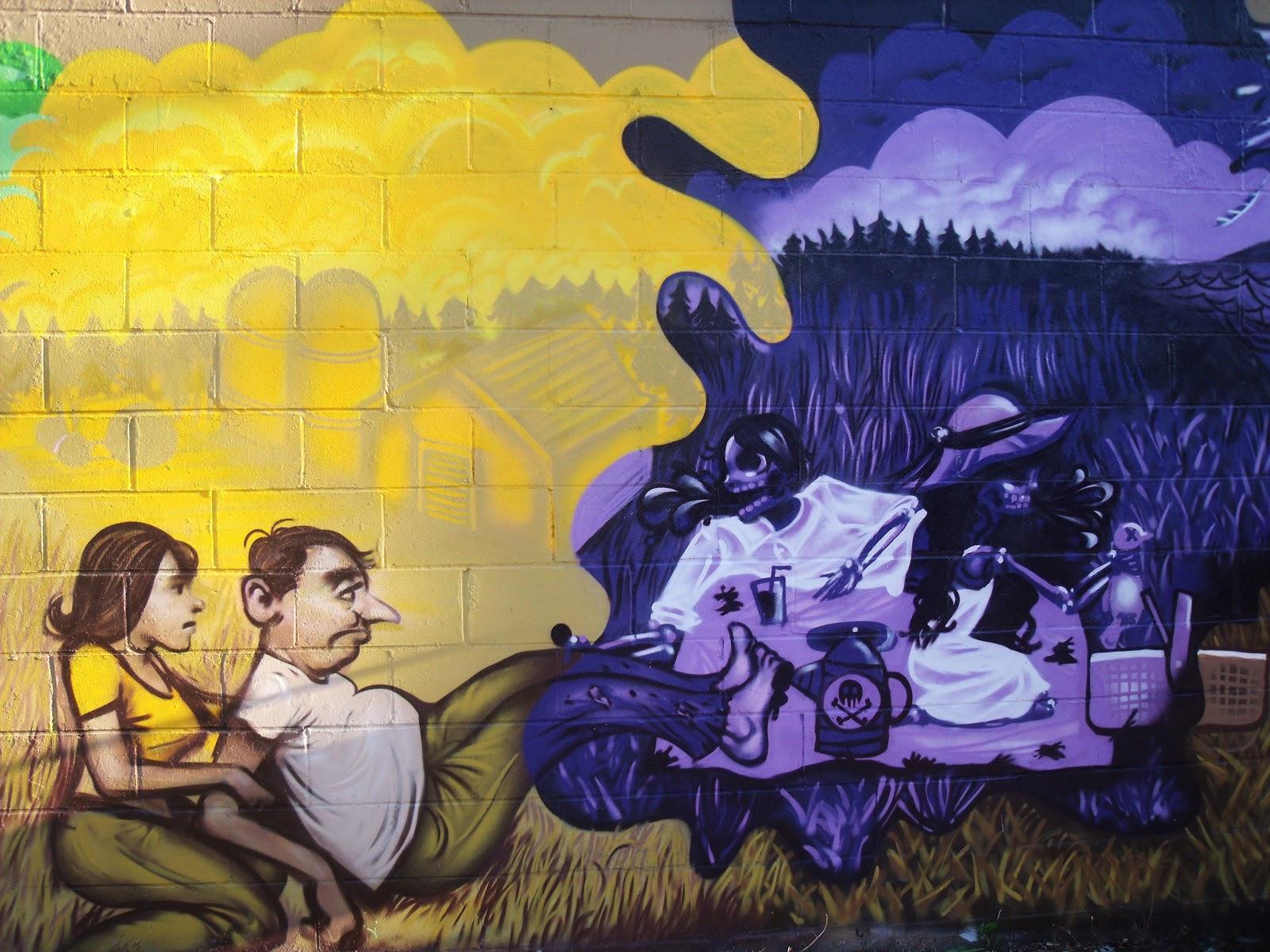 Jordan Malcolm Hamilton: Community Murals