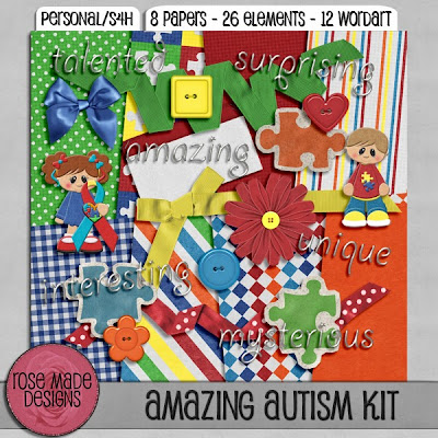 Amazing Autism by RoseMade Designs