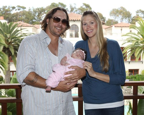 Kevin Federline Shows Off New Baby Girl Jordan