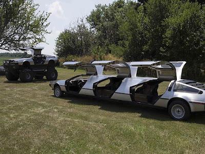 dmc DeLoreans modif