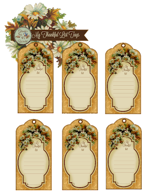 My Thankfull List Tags