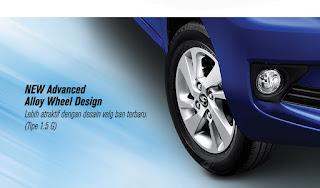 New Advanced Alloy Wheel Design